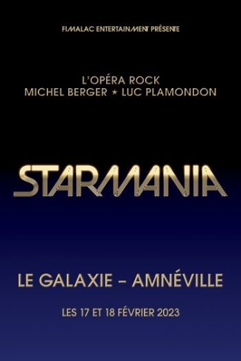 Affiche Starmania Galaxie