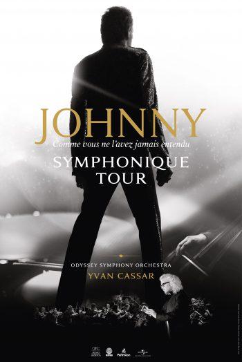 Affiche Johnny symphonique tour