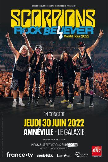 Scorpions affiche concert